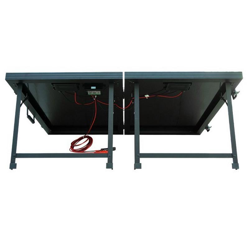 100W 12V Off-Grid Monocrystalline Portable Folding Solar Panel Suitcase
