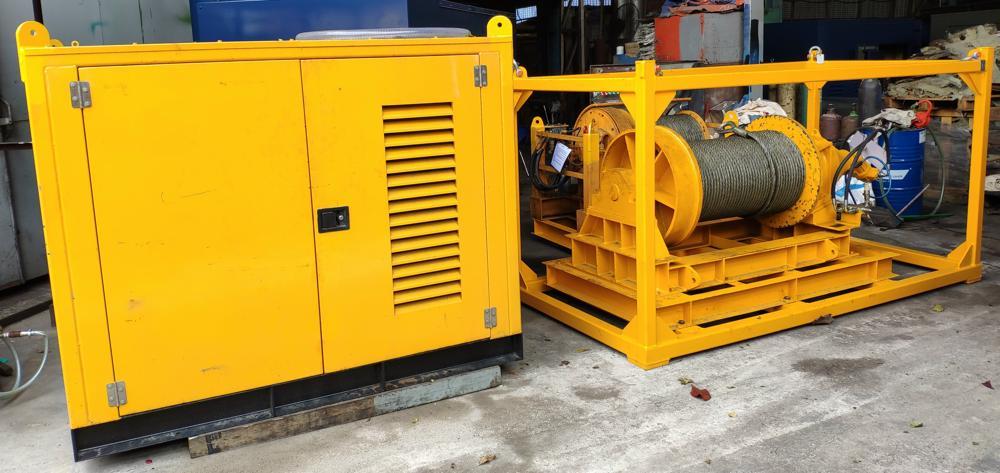 16 Ton Hydraulic Winch