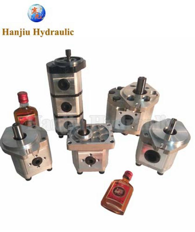 16MPa Pressure Hydraulic Hub Motor / Hydraulic Drive Motor CBT GP1-Q82RK7FOB 1709000