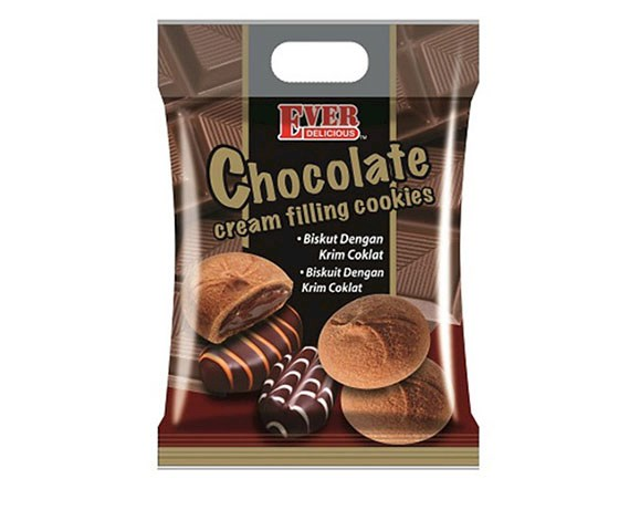 400g Chocolate Cream Filling Cookies