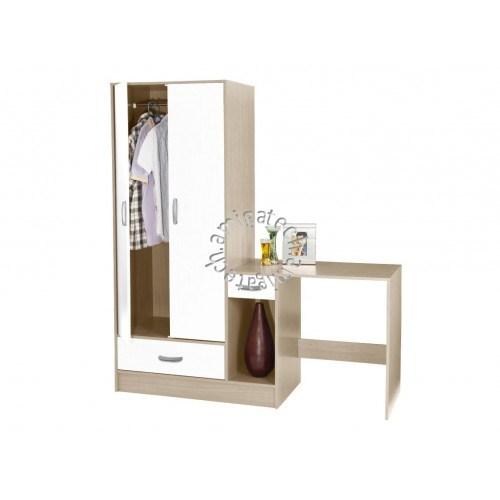 Akida Bedroom Set: Wardrobe+Dressing Table BR 5980