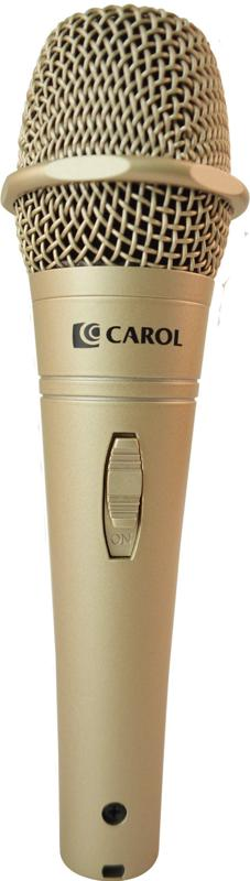 CAROL PROFESSIONAL STAGE MICROPHONE CLASSIC GOLD - PHDNCR-916SEG