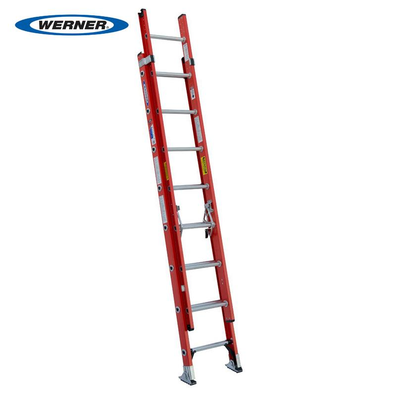 Fiberglass Multi Section Extension Ladder D6200-2 Series