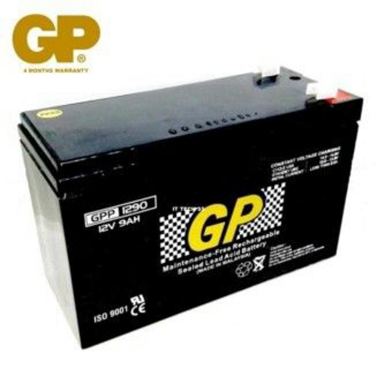 GP 12V 9.0AH SEALED LEAD ACID BATTERY - BTRCGP-SLA1290