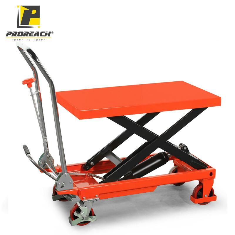 Proreach, LT Series Manual Scissor Lift Table - LADDER