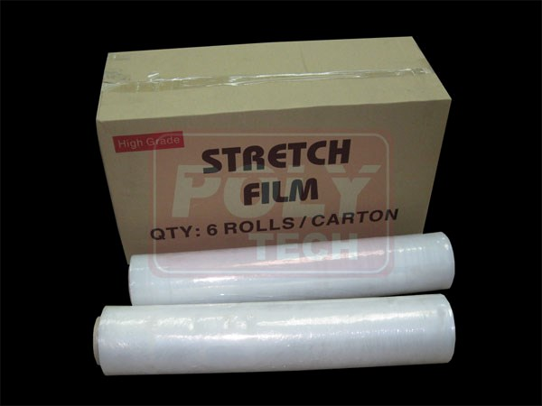 PE Stretch Film - Hand Roll - Poly Tech Packaging (M) Sdn